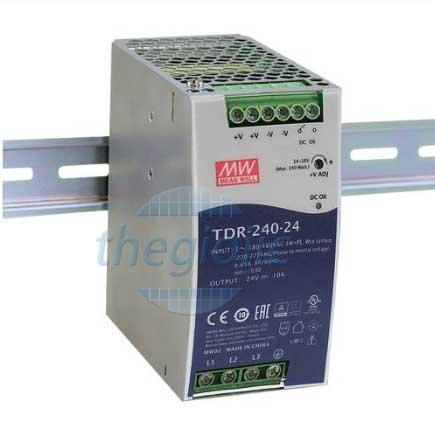 TDR-240-48 Nguồn Meanwell Gắn Ray 48V 5A