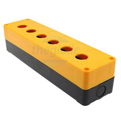 BX6-22 Hộp 6 Nút Điều Khiển 22mm