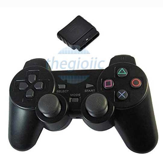 PS2 Tay Điều Khiển Không Dây 2.4GHz