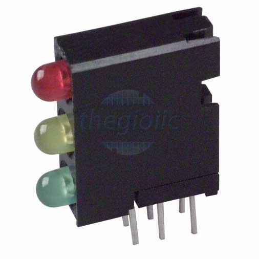 LED Đỏ-Vàng-Xanh Lá 3mm Đế Nhựa