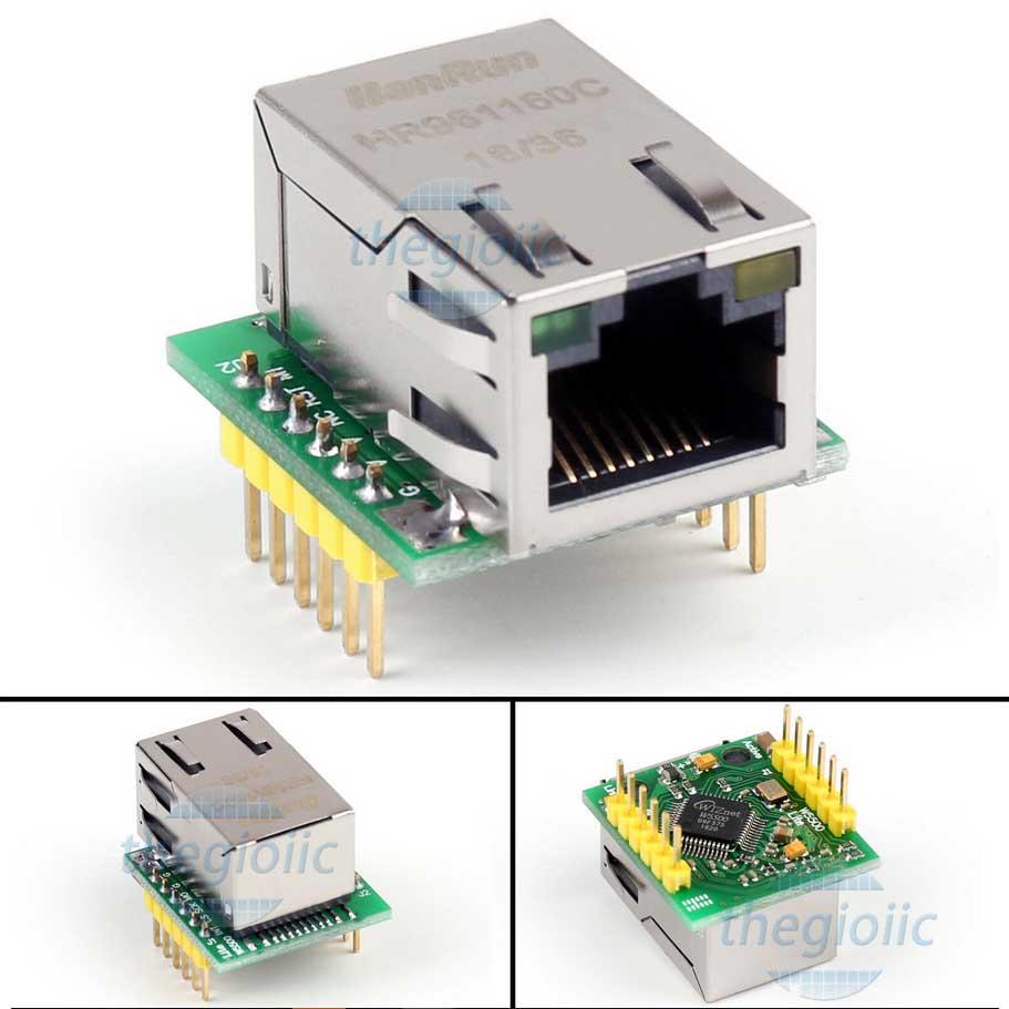 USR-ES1 Mạch Chuyển Đổi Ethernet Giao Tiếp SPI