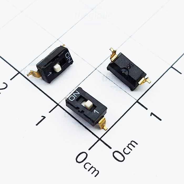 1 POSITION SMD DIP SWITCH