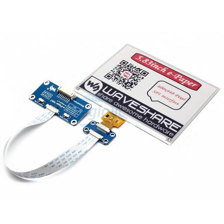 Module LCD 5.83inch E-Ink Đỏ Đen Trắng