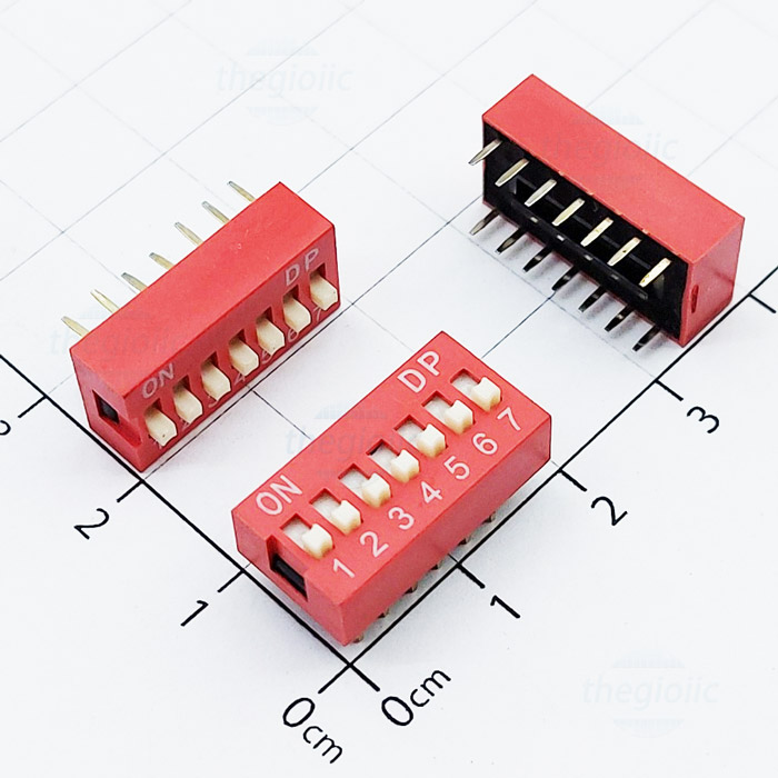 7-Slide DIP Switch