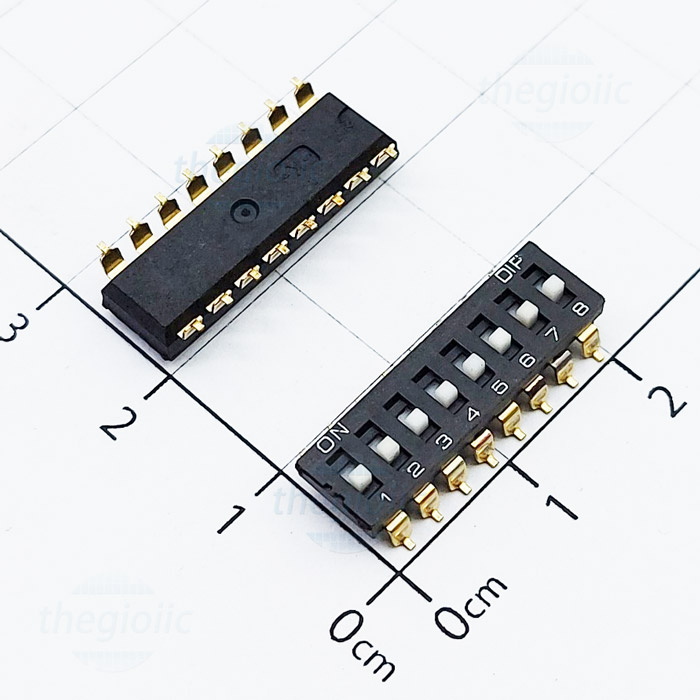 8 POSITION SMD DIP SWITCH
