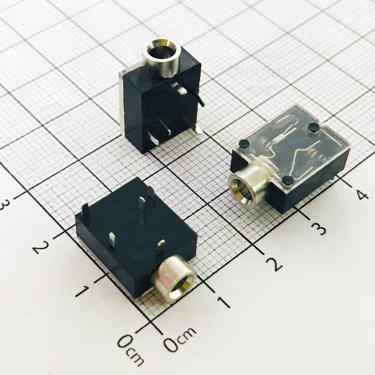 PJ-324 Cổng Audio 3.5 3 Cực 5Pin