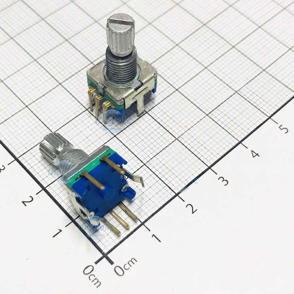 EC11-30 Rotary Encoder 30 Vị Trí 15 Xung
