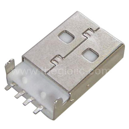 SMD male USB-A Connector