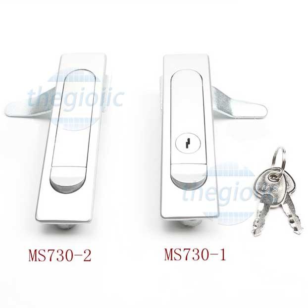 MS730-1 Khóa Tủ Điện Cong 117mm
