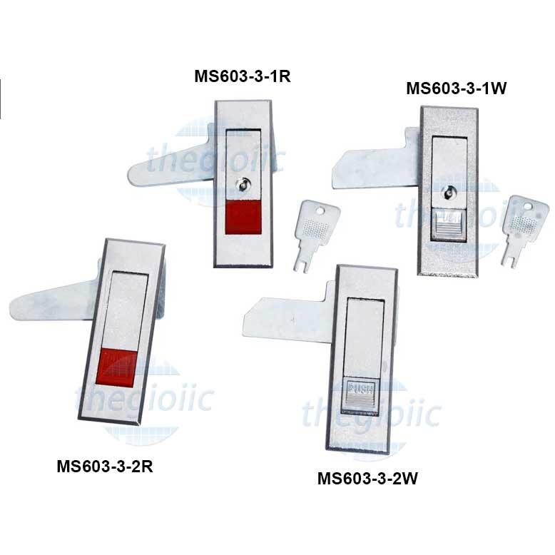 MS603-3-1W Khoá Tủ Điện 86mm