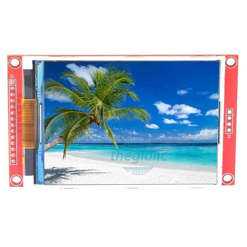 LCD 3.2Inch ILI9341 Giao Tiếp SPI 14Pin