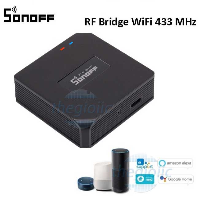 Bộ Điều Khiển Sonoff RF WiFi 433MHz