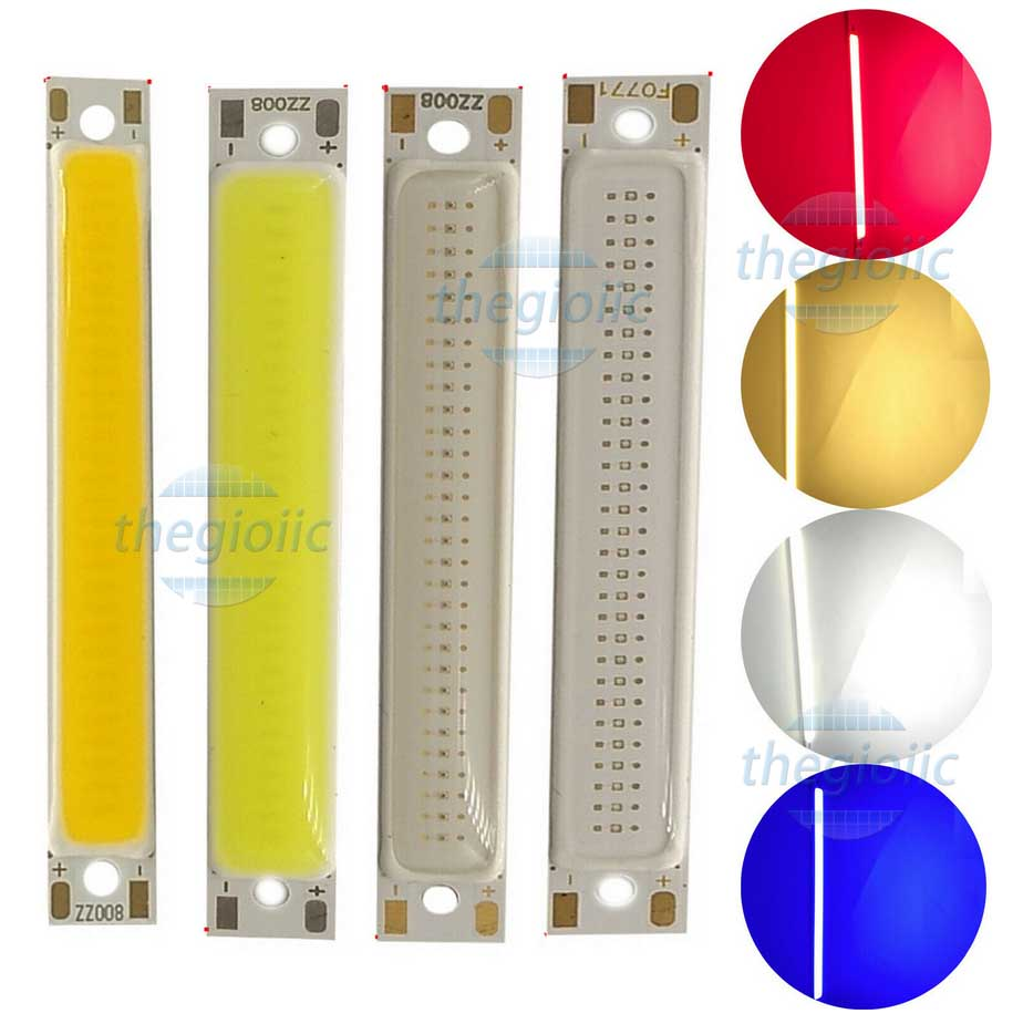 LED Đỏ 3W COB 60x8mm