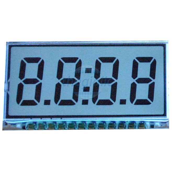 GDC04212 Màn Hình LCD LED 7 Đoạn Đồng Hồ