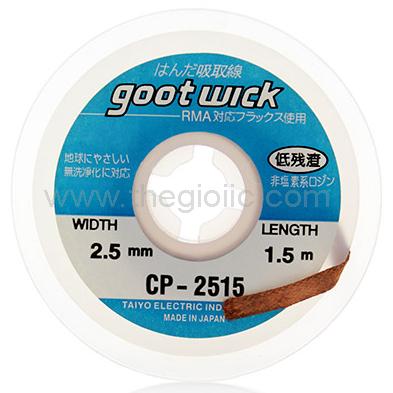 CP-2515 Goot Dây Đồng Hút Chì 2.5mm Dài 1.5m
