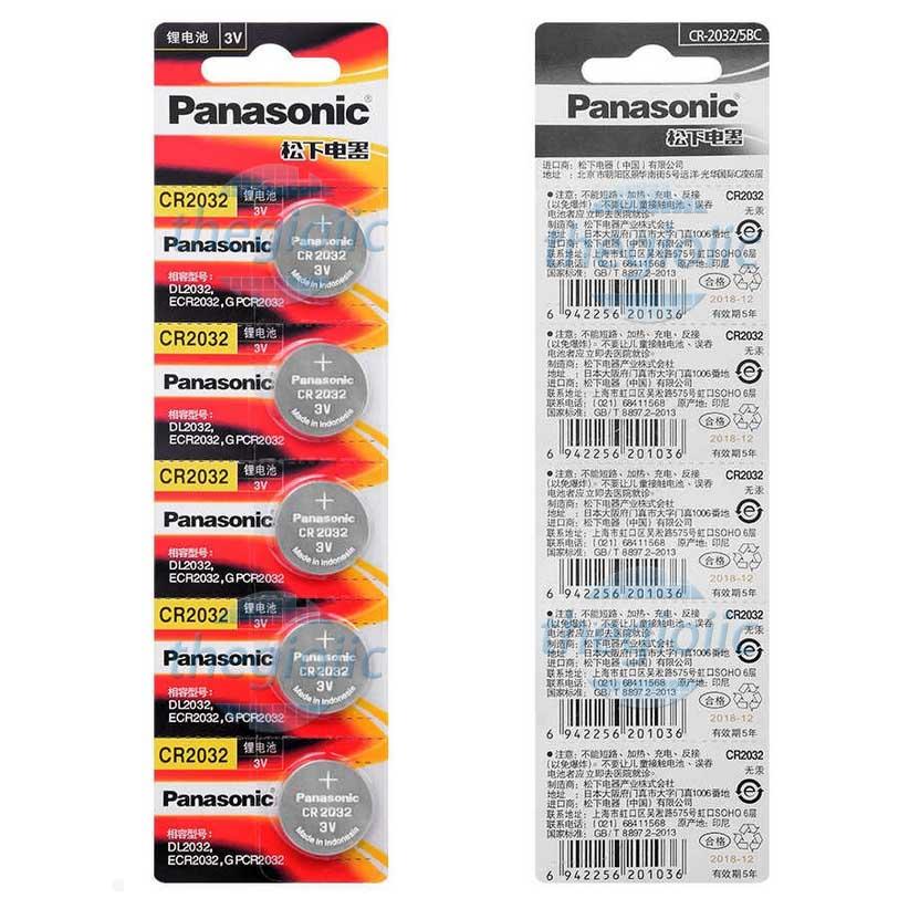 Pin Panasonic CR2032 3V