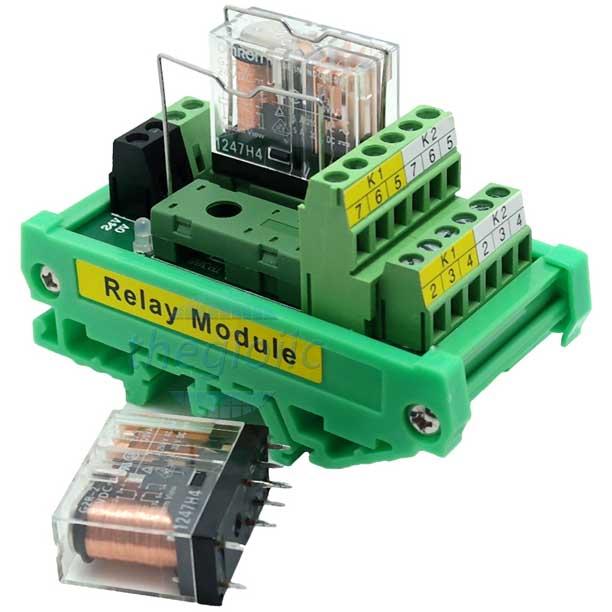 Module Relay G2R-2-E 2 Kênh 24VDC