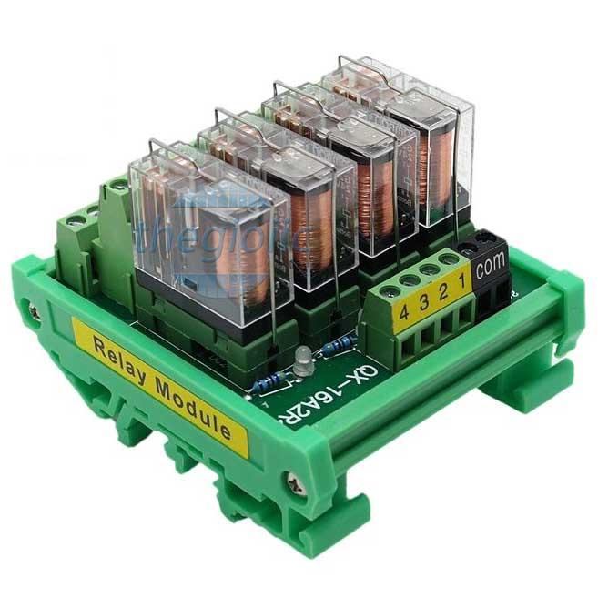 Module Relay G2R-2-E 4 Kênh 24VDC
