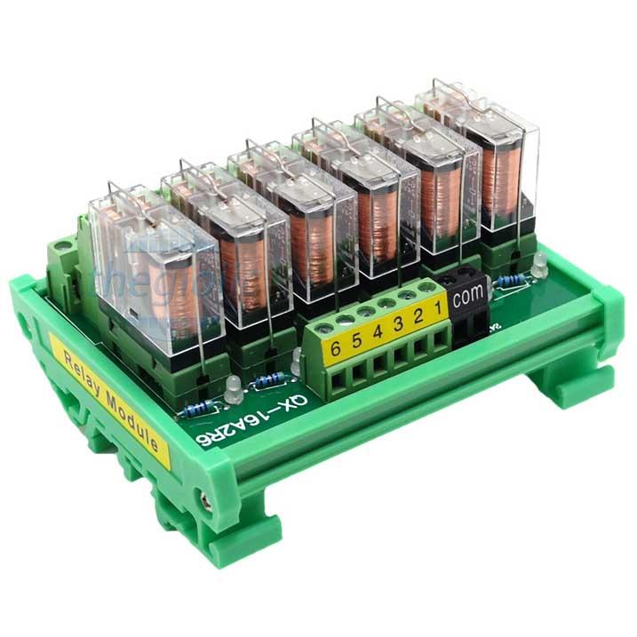 Module Relay G2R-2-E 6 Kênh 24VDC