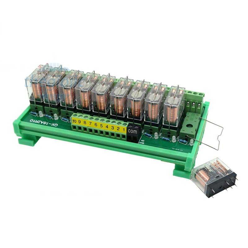 Module Relay G2R-2-E 10 Kênh 24VDC