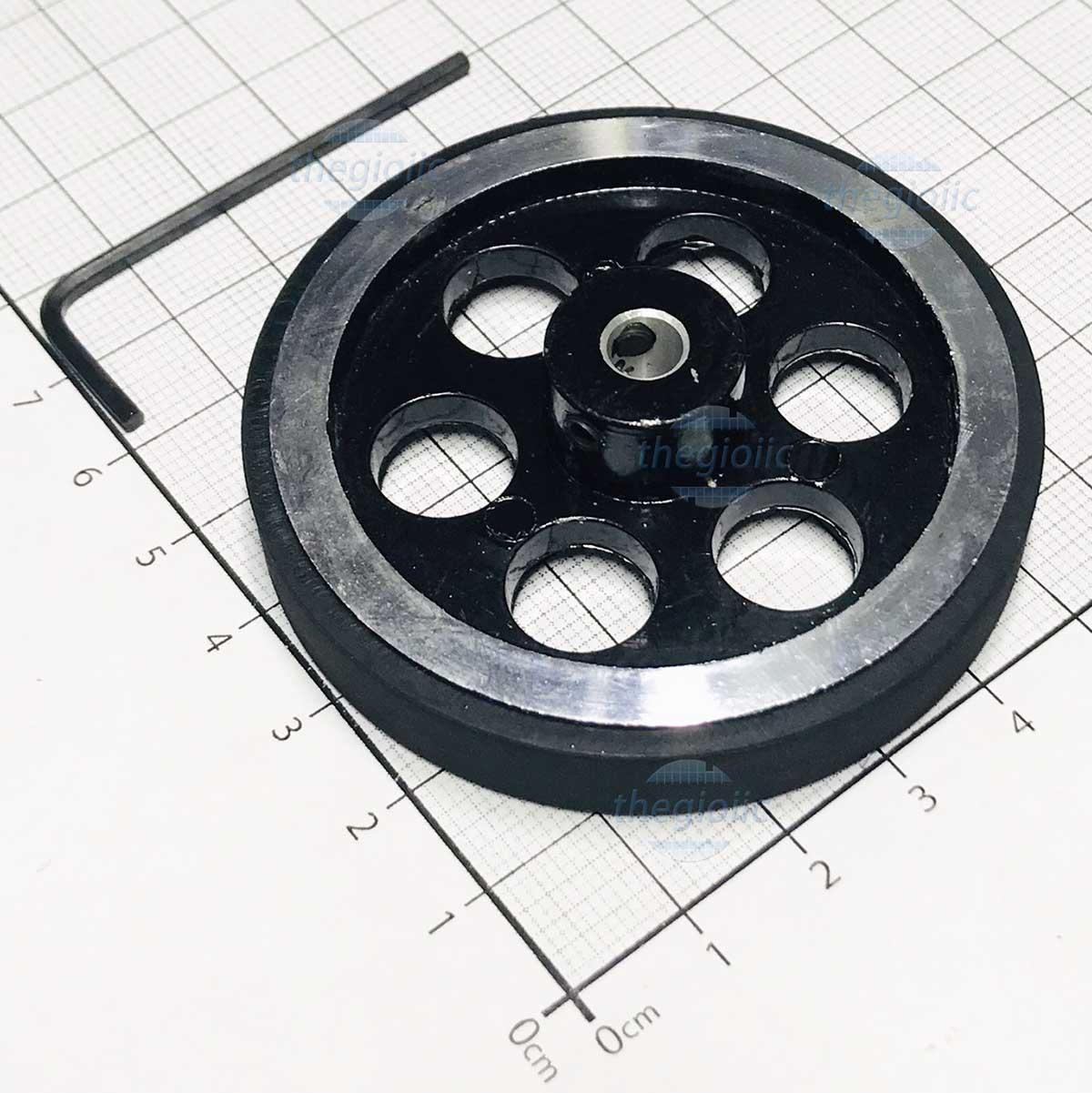 Bánh Xe Encoder 200mm Nhôm