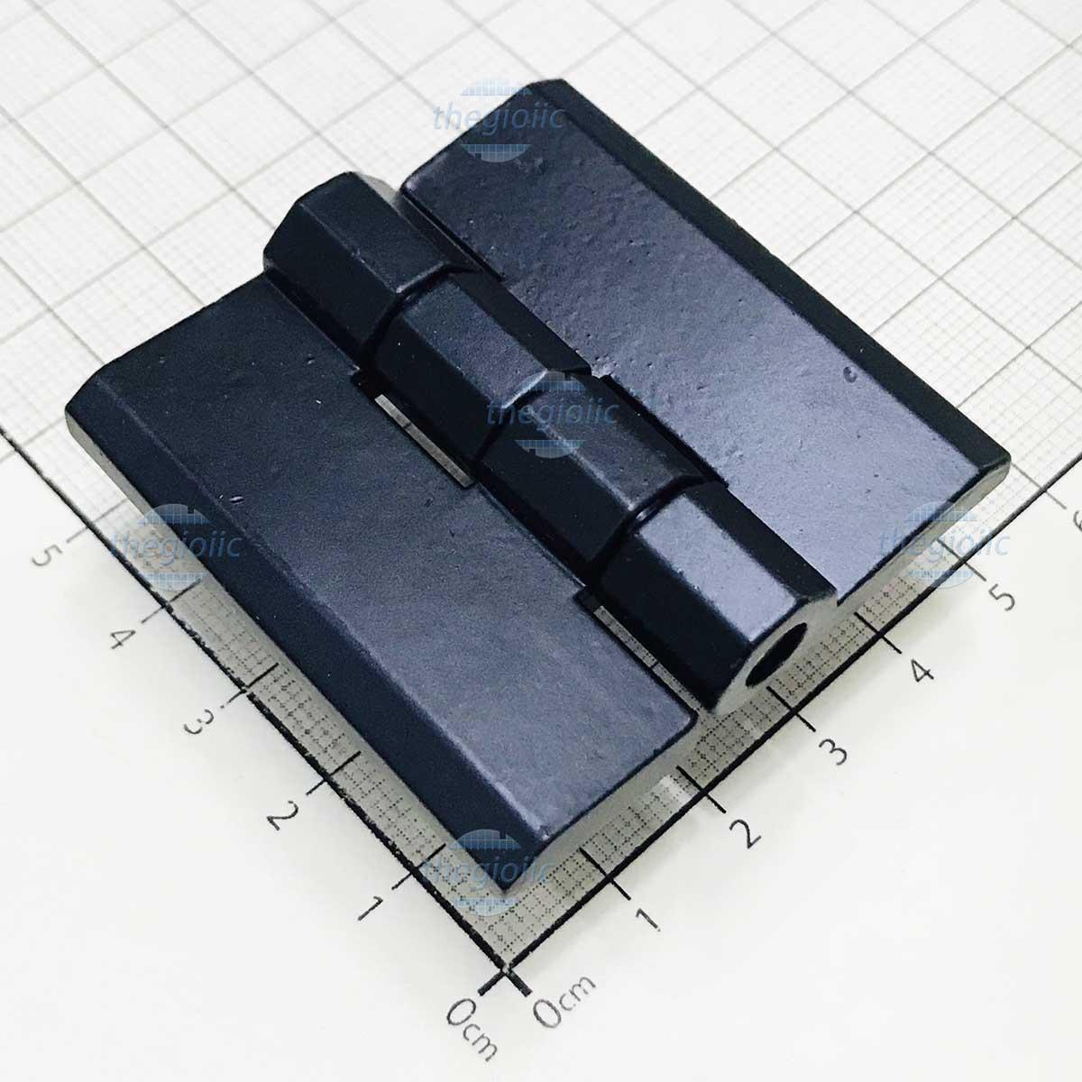 HL051-1 Bản Lề Tủ Điện Màu Đen 50mm