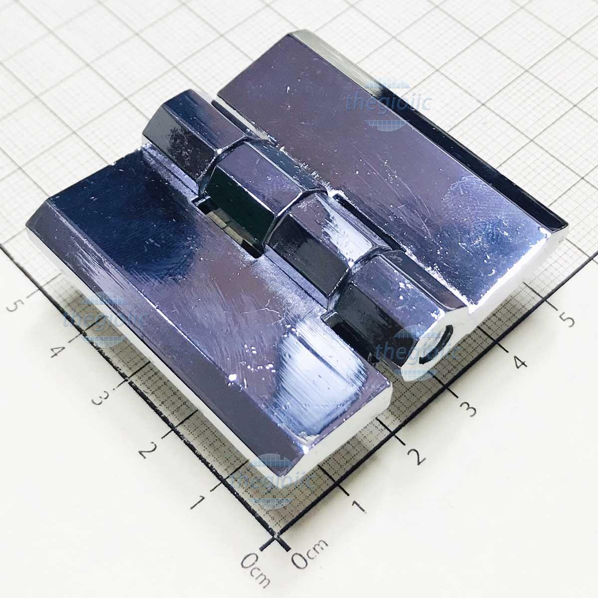 HL051-1 Bản Lề Tủ Điện Màu Bạc 50mm