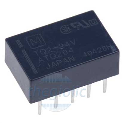 TQ2-12V Relay 24VDC 10 Chân