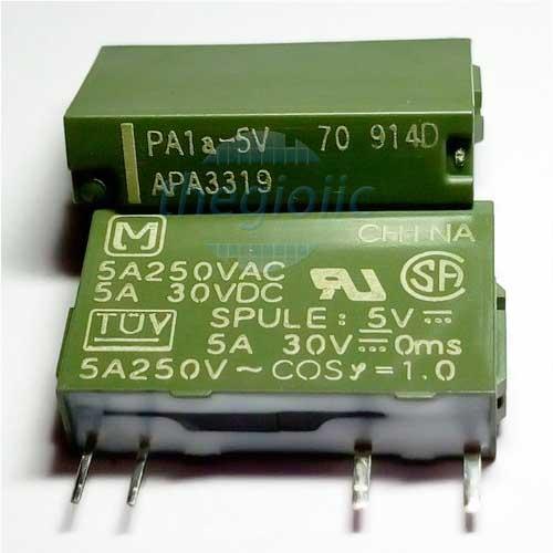 PA1A-12V Relay 12VDC 4 Chân