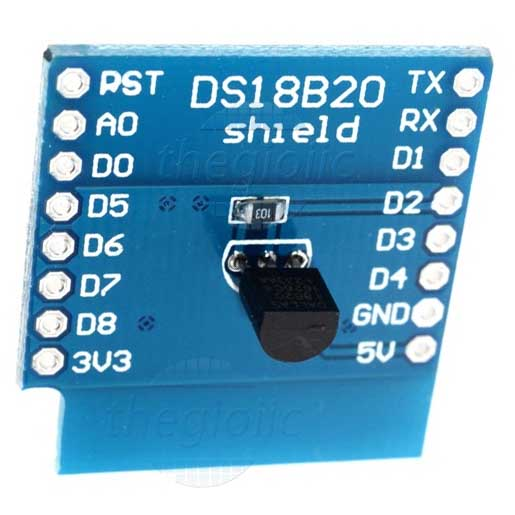DS18B20 D1 Mini Module Cảm Biến Nhiệt Độ