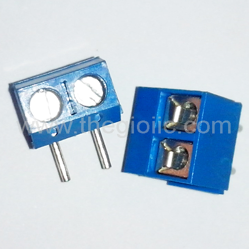 2-PIN 5mm R/A Terminal Block