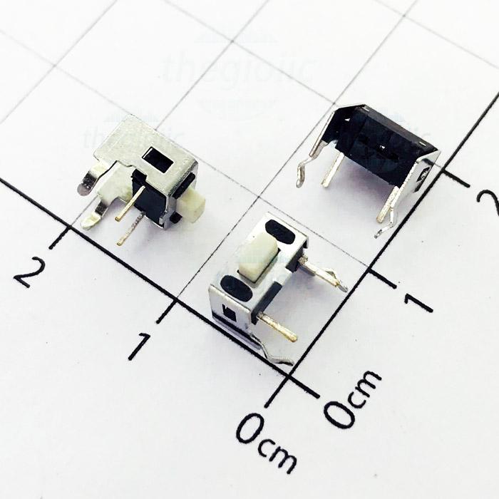 Nút Nhấn 3x6x5 4Pin Xuyên Lỗ Chỉnh Ngang