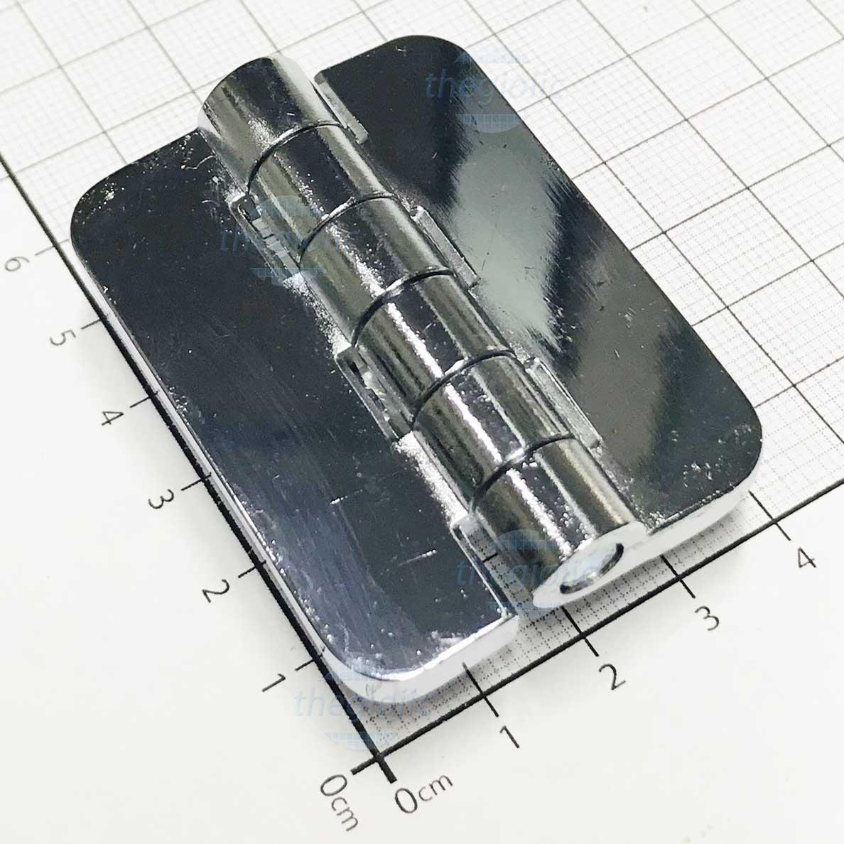 CL209-1 Bản Lề Tủ Điện Màu Inox 54mm