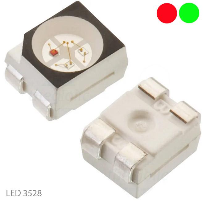LED Đỏ-Xanh Lá 3528
