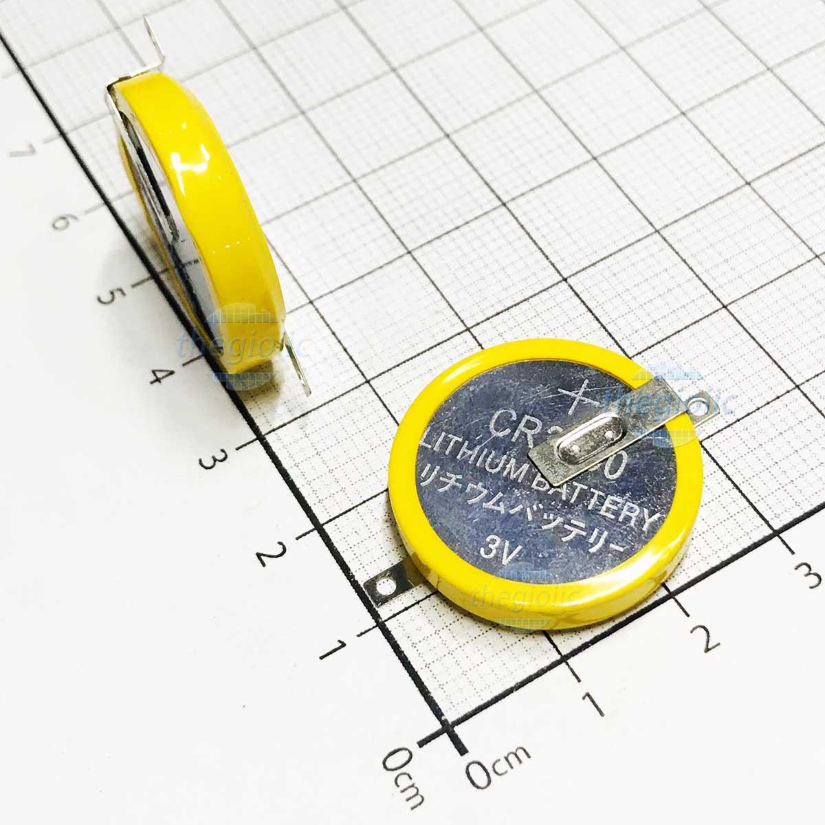 Pin CR2032 T33 3V 2Pin