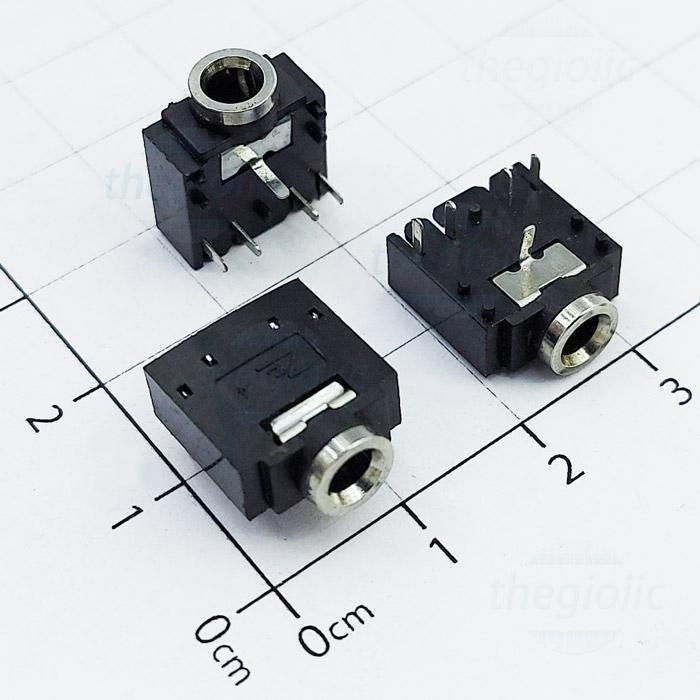 PJ-307 Cổng Audio 3.5 3 Cực 5 Chân