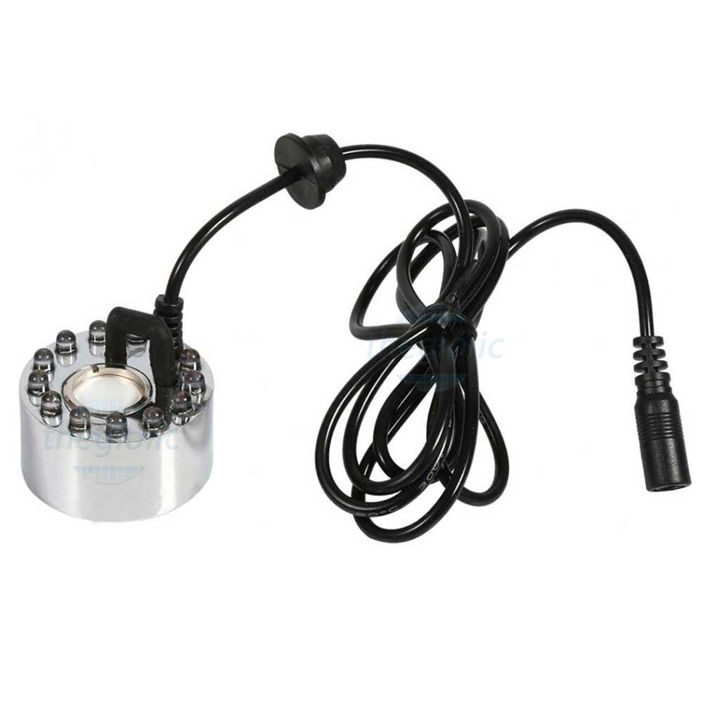 Động Cơ Tạo Hơi Nước Phun Sương 24VDC 12 LED