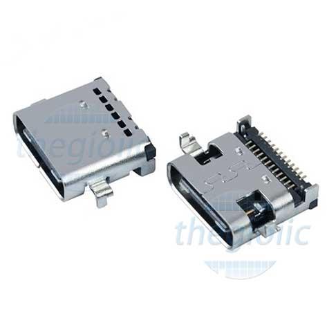 Cổng USB3.1 TypeC 24Pin SMD Đầu Cái