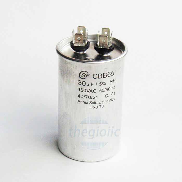 Tụ CBB65 30uF 450VAC