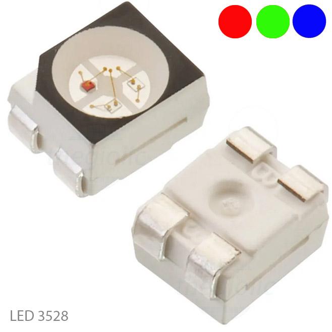 LED RGB 3528