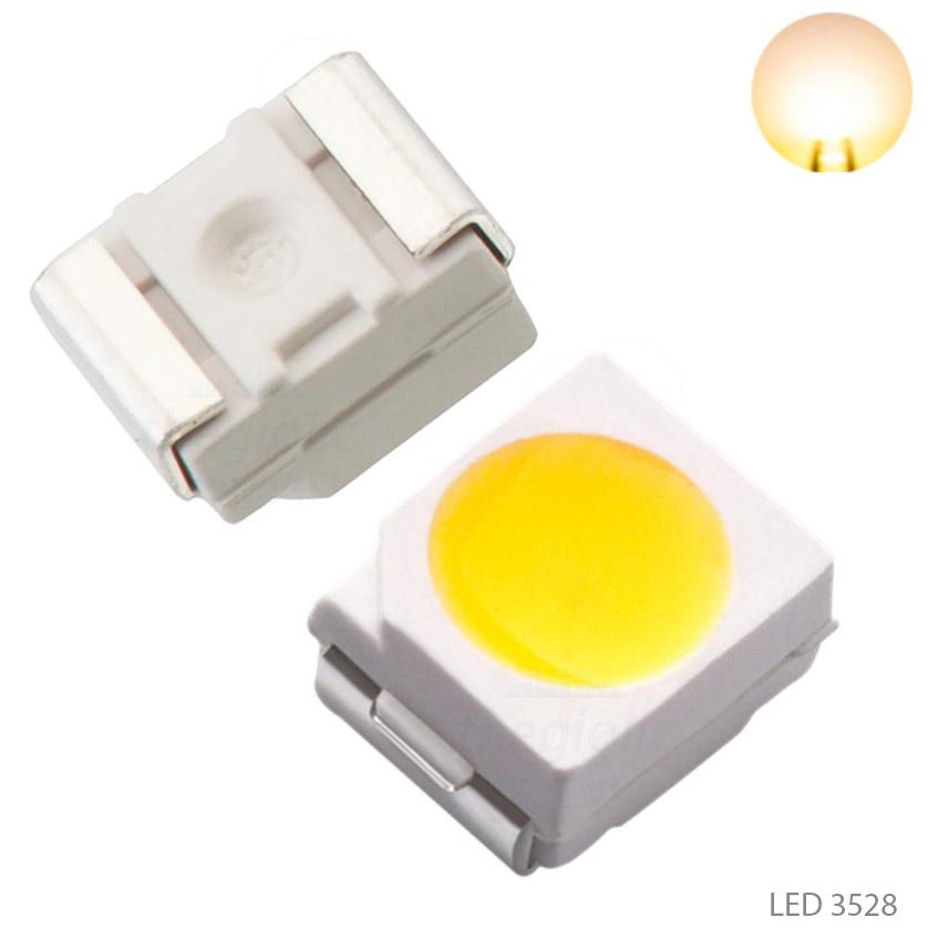LED Trắng Ấm 3528