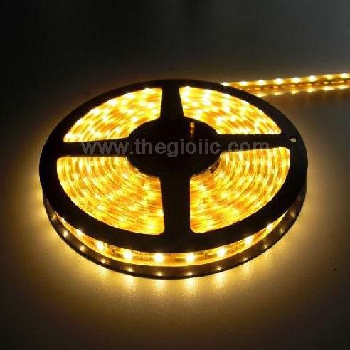 LED Dây 5050 Vàng Loại Dán Dài 5M