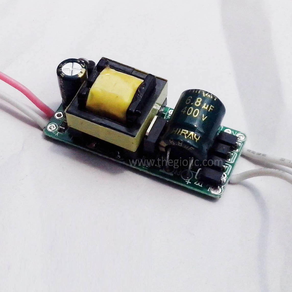 Bộ Nguồn LED 4~7W Không Vỏ