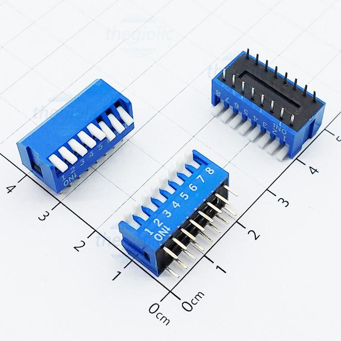 Công Tắc 8Bit Dạng Piano Dip Switch