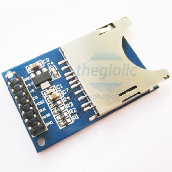 SD card reader module
