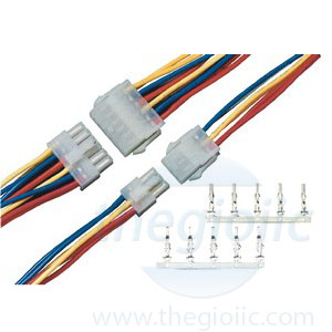 5557 power connector wire