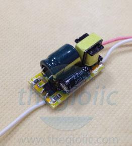 Bộ Nguồn LED T8 240mA Không Vỏ