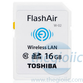 FlashAir WIFI SD 16GB