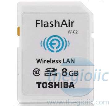 FlashAir WIFI SD 8GB