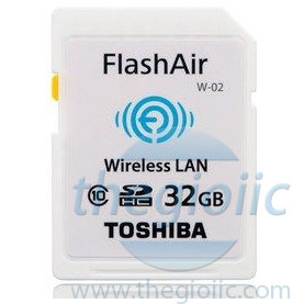 FlashAir WIFI SD 32GB